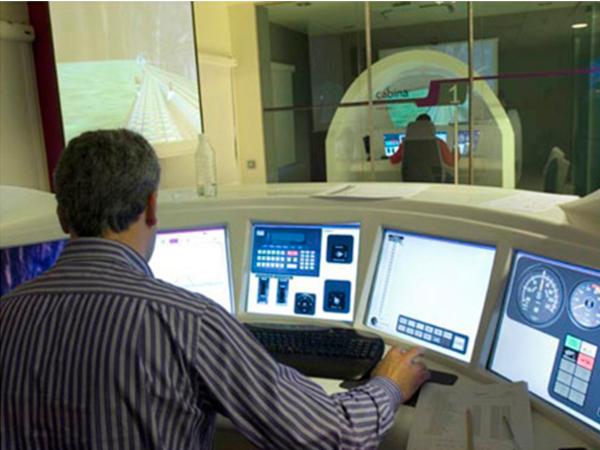 Monrabal centro de control y oficinas de la delegaci n for Oficinas de renfe en madrid