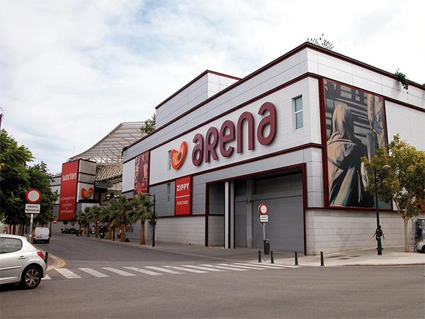 Monrabal centro comercial arena multiespacio y edificio de for Edificio oficinas valencia